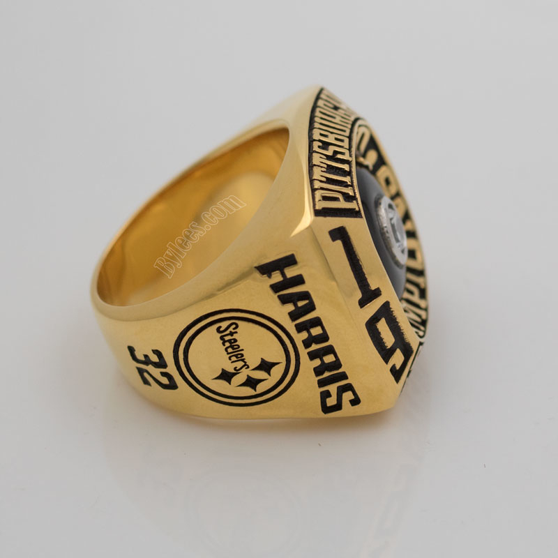 Franco Harris steeler super bowl IX Ring