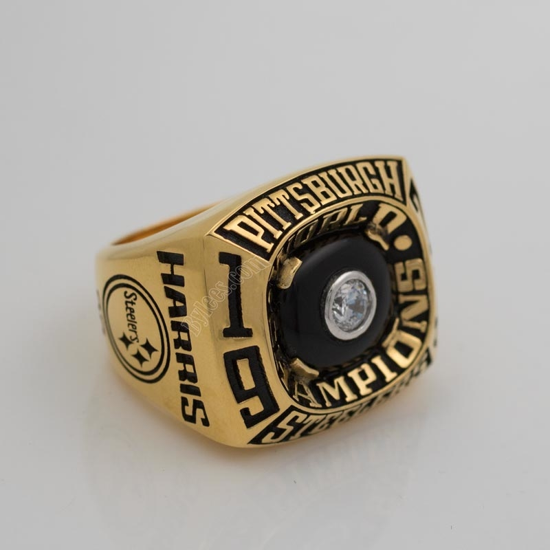 Pittsburgh Steelers Super Bowl IX Championship Ring