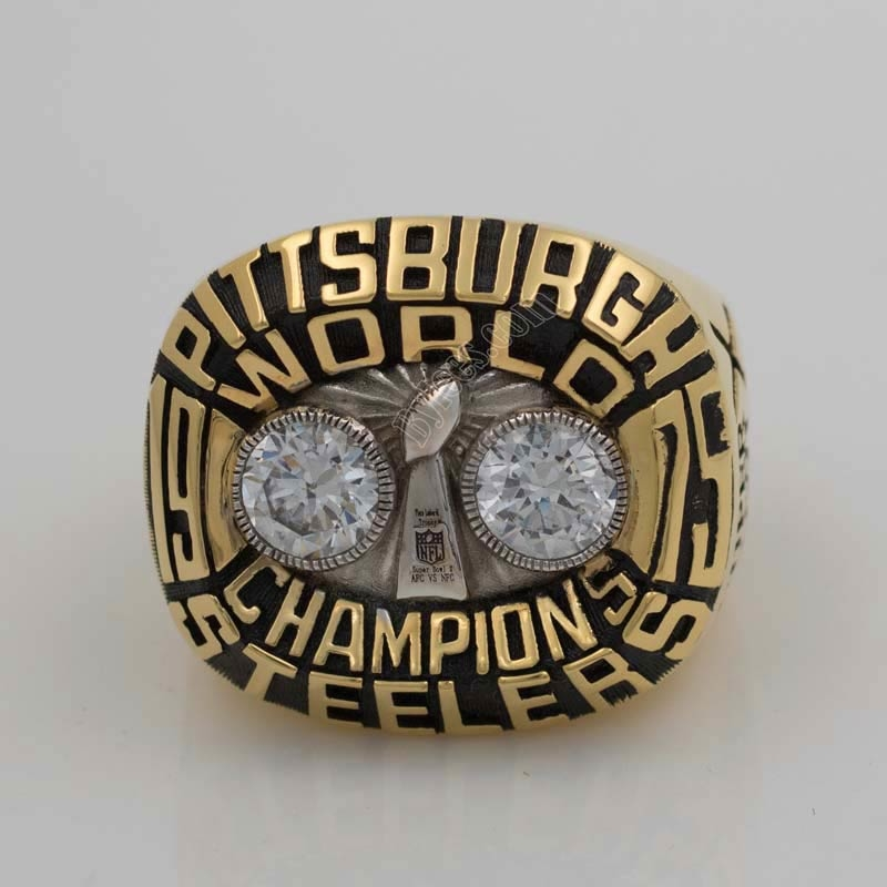 1975 Steelers super bowl X championship ring