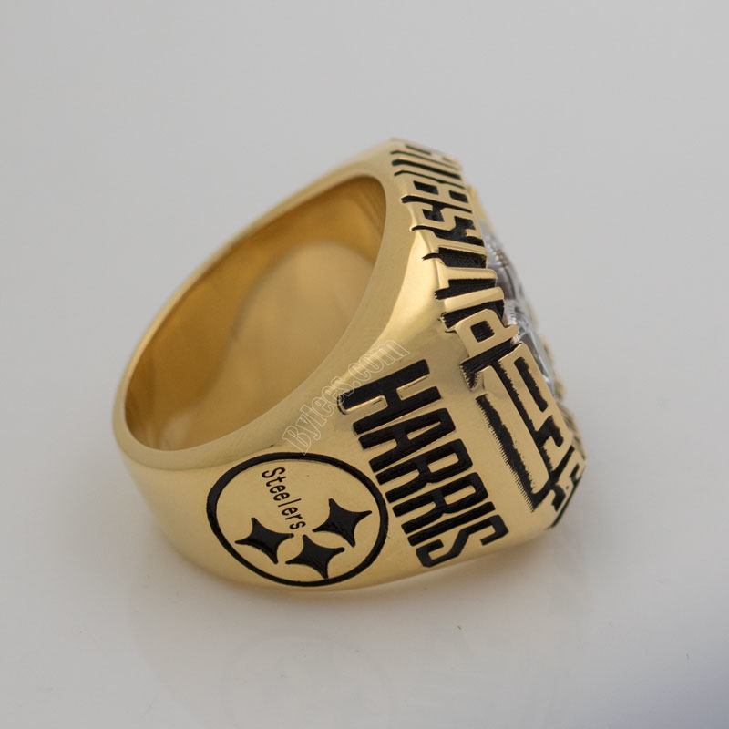 Steelers super bowl X championship ring