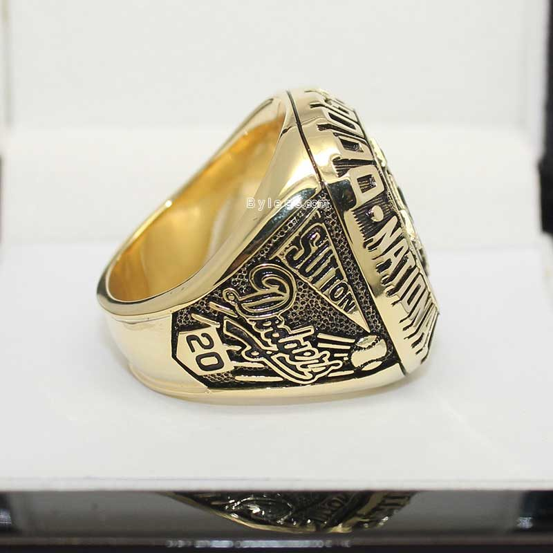 Right side view of dodgers rings (1977 NL Champions)