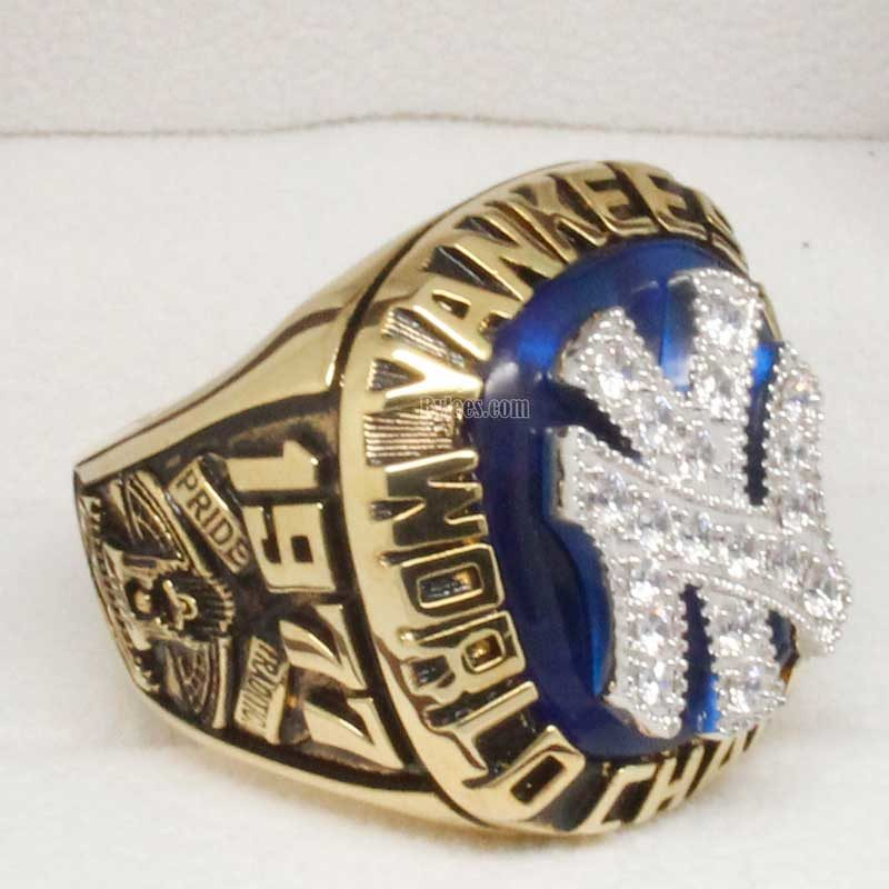 1977 yankees world series ring
