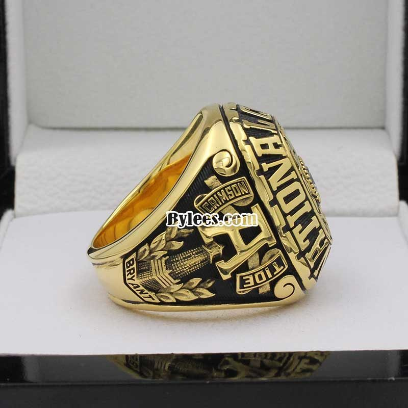 Alabama 1978 National Championship Ring