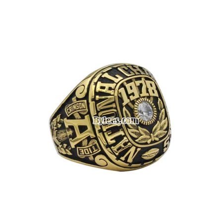 1978 bama Football National Championship Ring