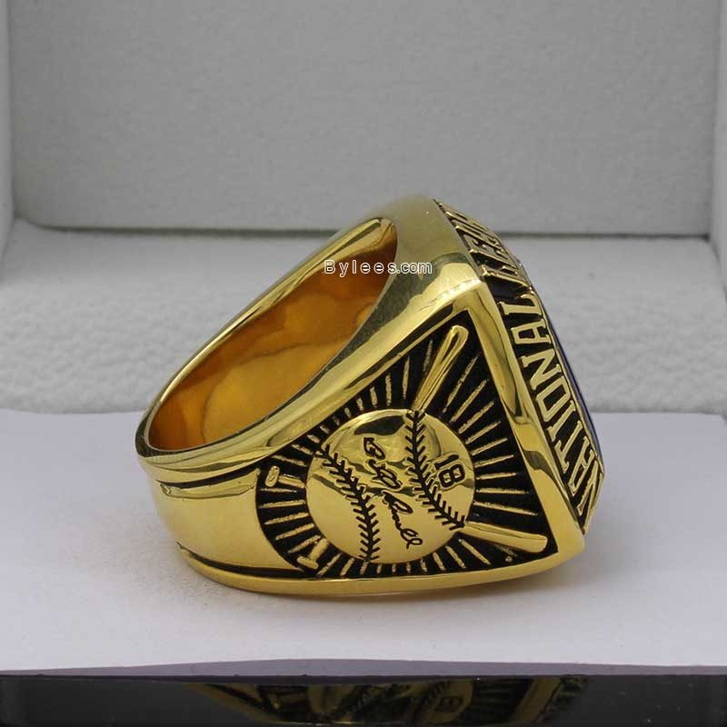 Right side view of dodgers rings (1978 NL Champions)