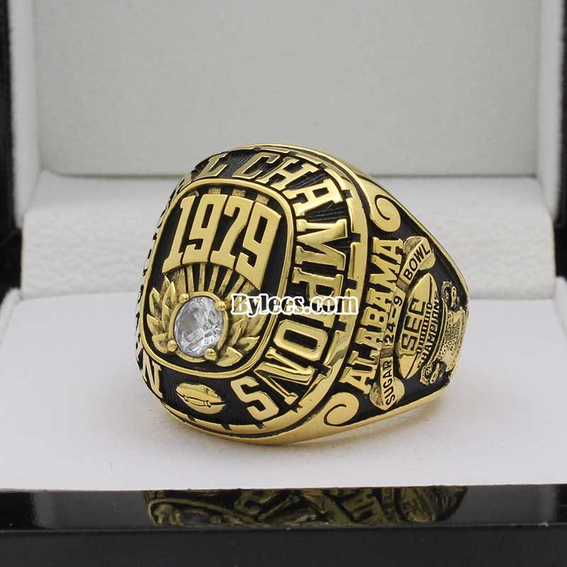 1979 Alabama Crimson Tide National Championship Ring