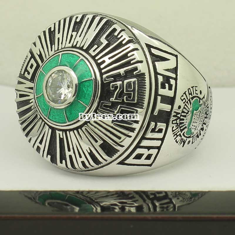 1979 Michigan State Spartans Basketball National Championship Ring