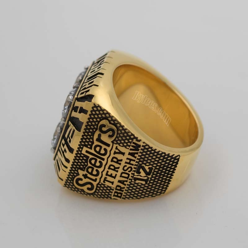 Pittsburgh Steelers 1979 super bowl XIV championship ring