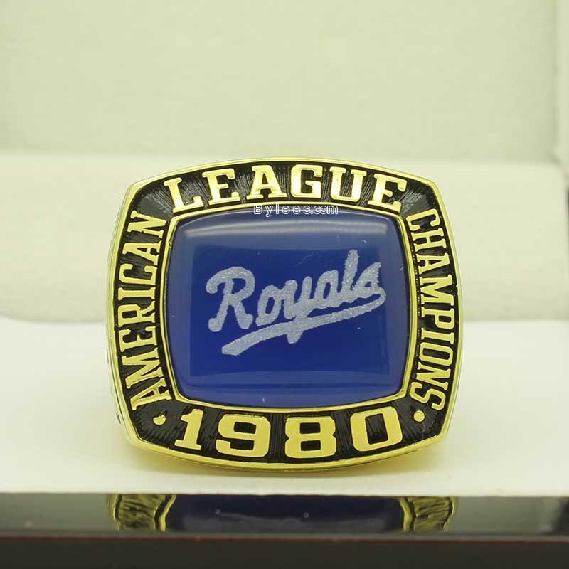 1980 Kansas City Royals American League Championship Ring (pic 6)