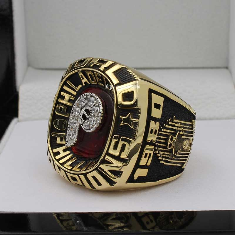 1980 phillies world series ring