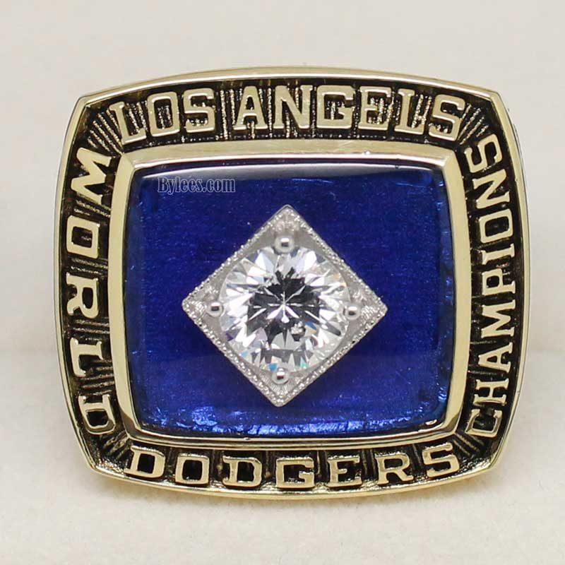 la dodgers world series rings (1981)