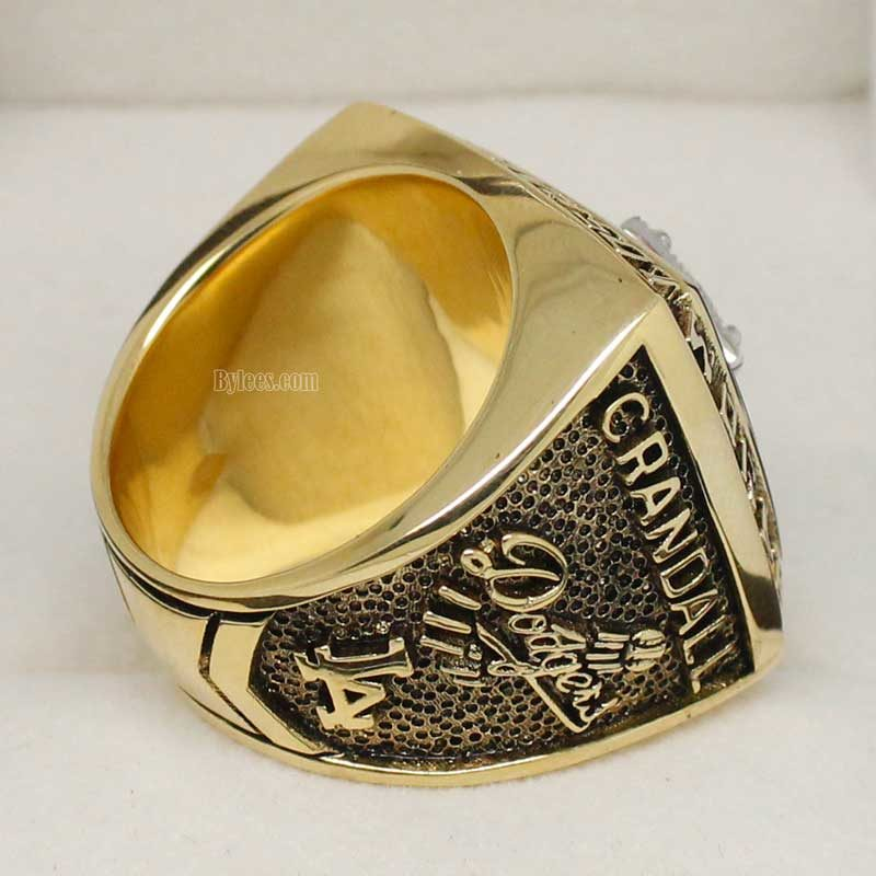 la dodgers rings (1981 world series Champions)