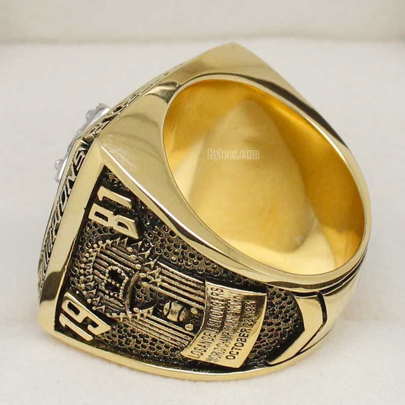 dodgers world series ring replica (1981)