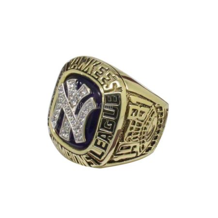 1981 New York Yankees American League Championship Ring