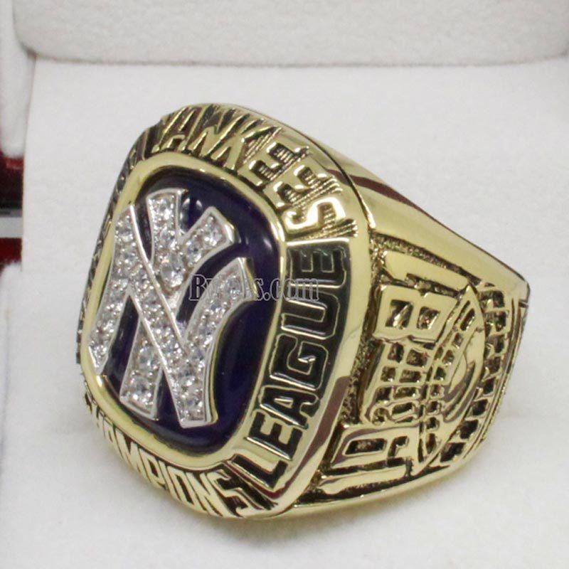 1981 New York Yankees Championship Ring