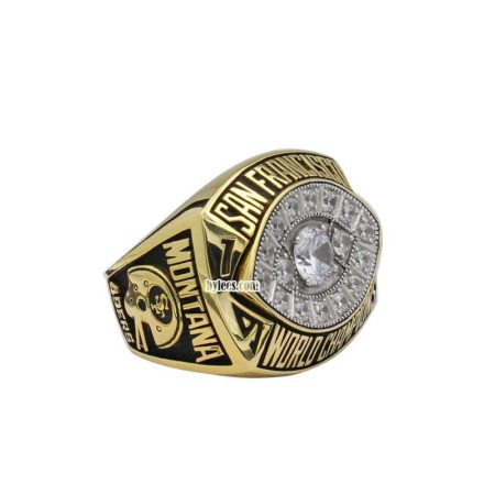 joe montana 1981 super bowl ring