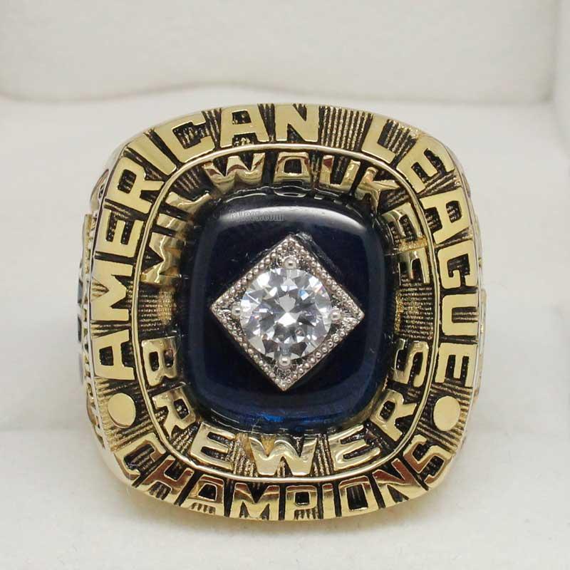 Milwaukee Brewers  Al Championship Ring