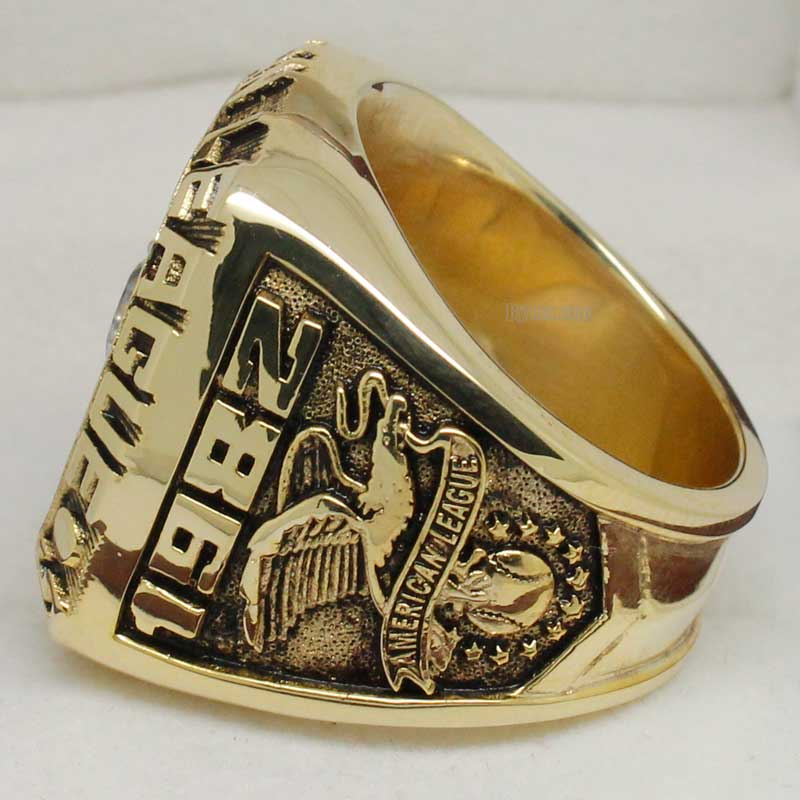 1982 Milwaukee Brewers American League Championship Ring ...