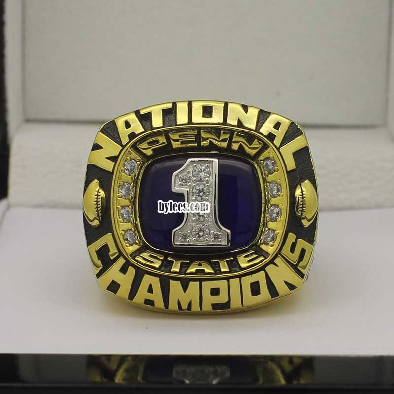 1982 Penn State Nittany Lions Championship Ring