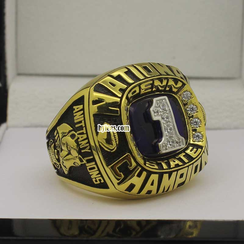 Penn State 1982 Football championship ring