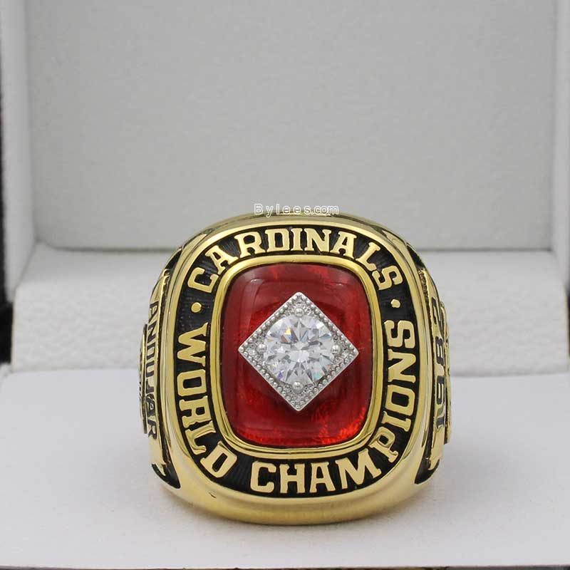 1982 cardinals world series ring