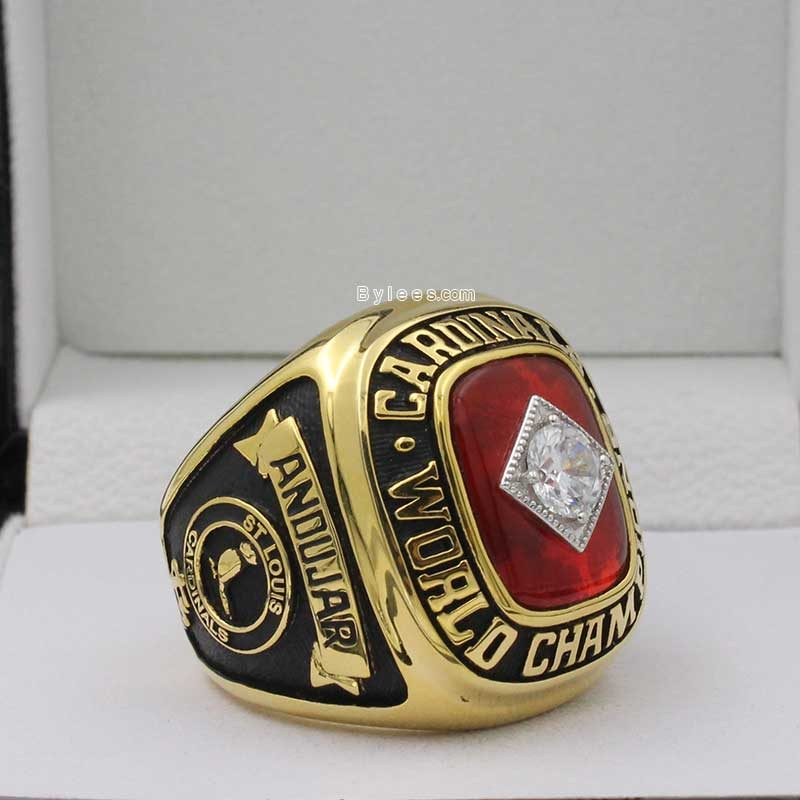 1982 world series replica ring