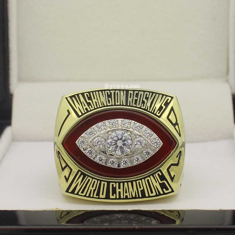 1982 Washington Redskins super bowl ring