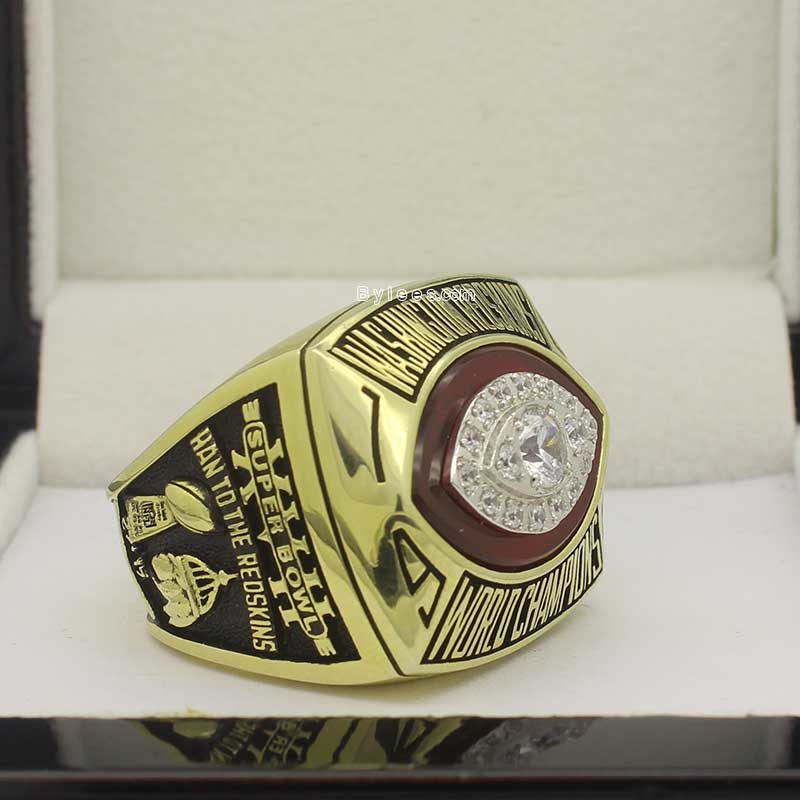 redskins 1982 super bowl ring