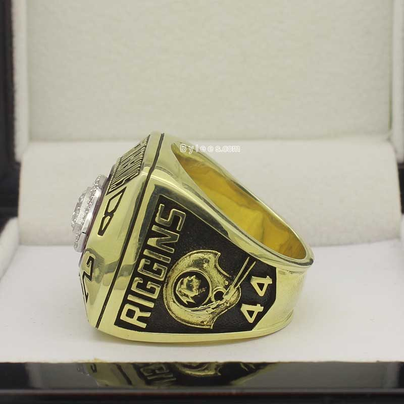 John Riggins 1982 super bowl ring