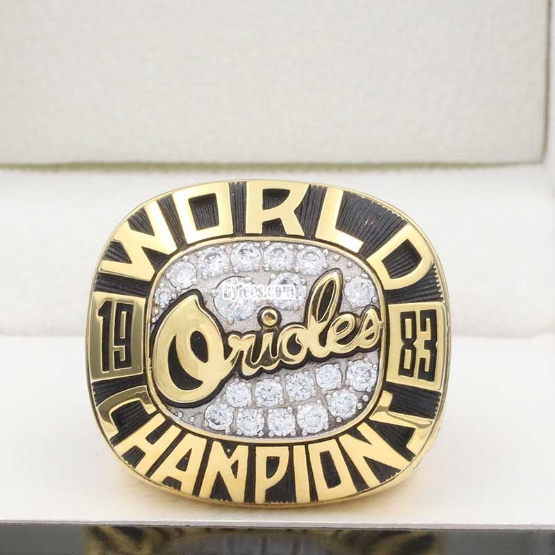 1983 orioles world series ring