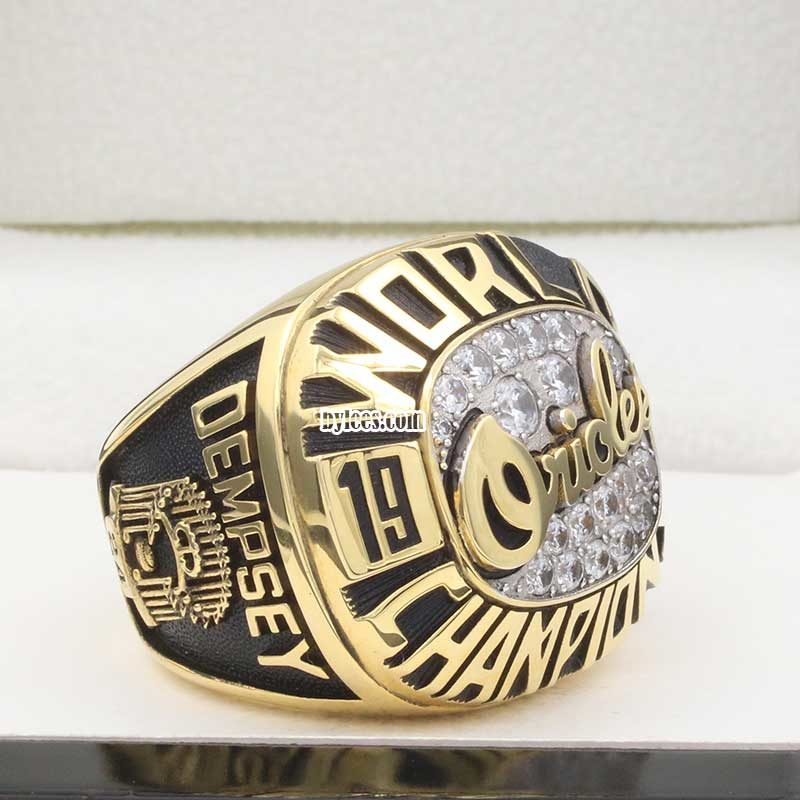 orioles world series rings in 1983