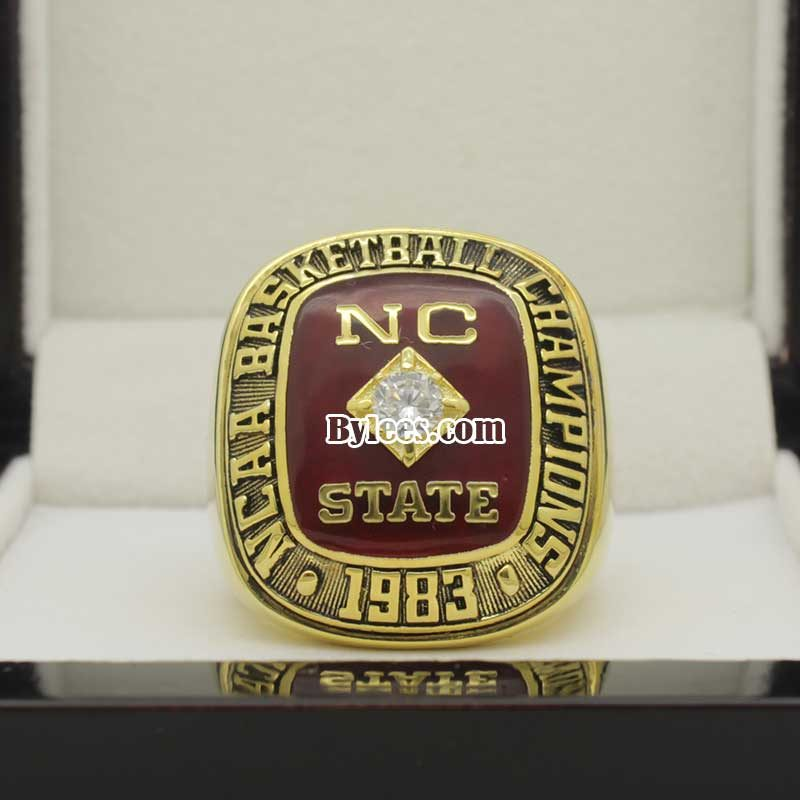 NC State 1983 Basketball Championship Ring