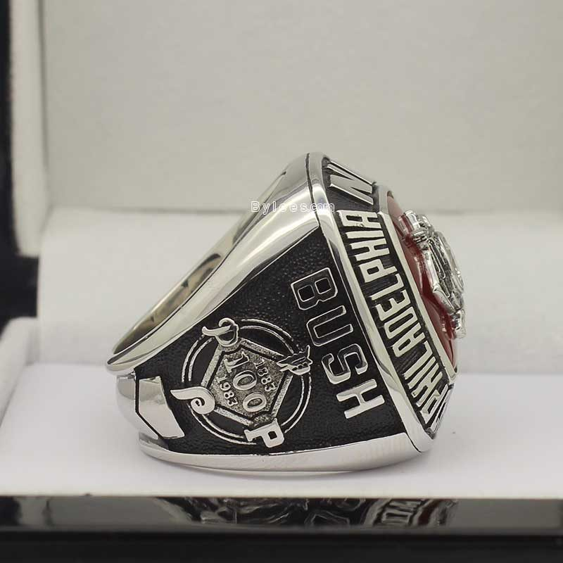 Right side view of 1983 Al Championship Rings