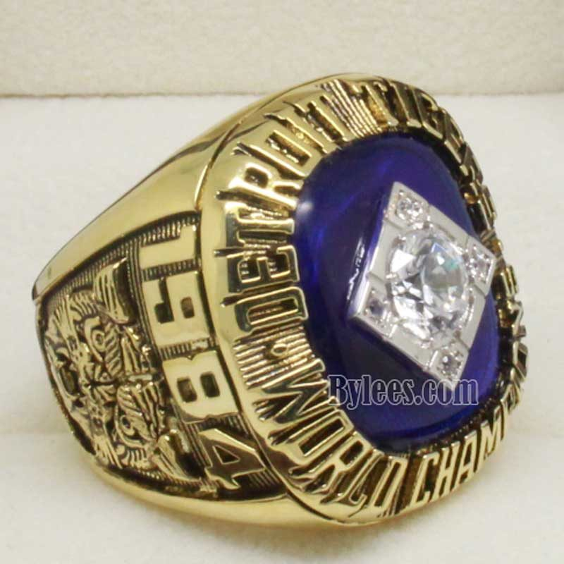 1984 detroit tigers world series ring