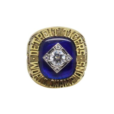 1984 Detroit Tigers World Series Championship Ring