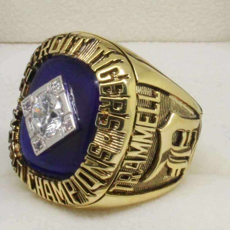 1984 tigers world series ring