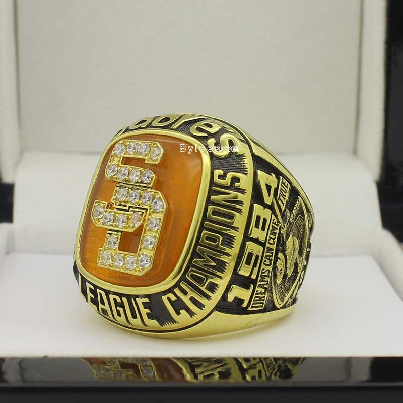1984 San Diego Padres NL Championship Ring