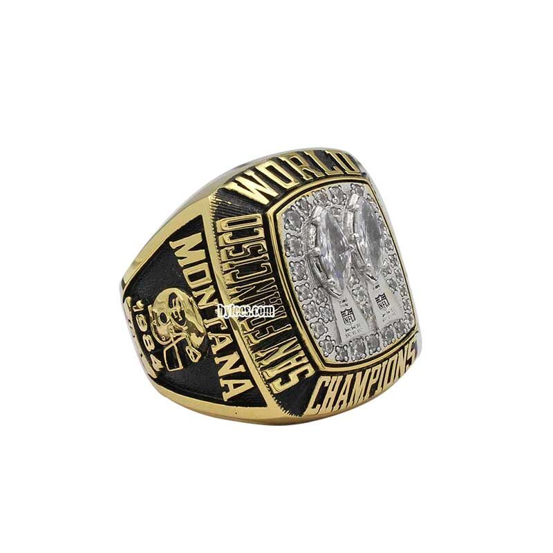 49ers joe montana super bowl rings 1984