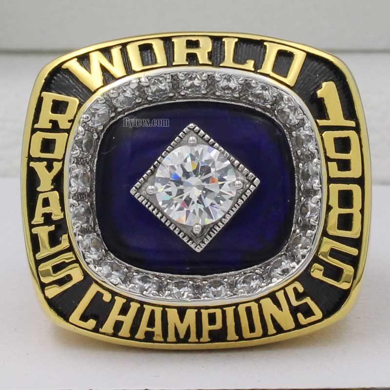 1985 world series ring