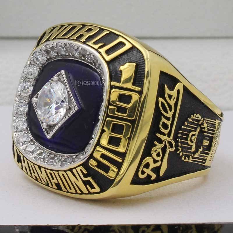1985 royals world series ring