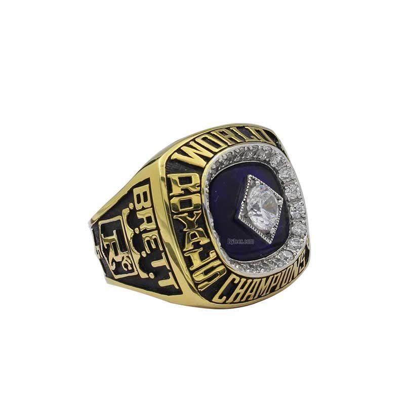 1985 royals championship ring
