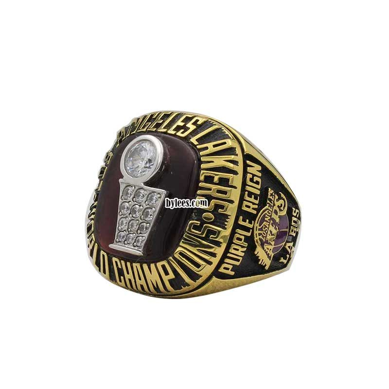 1985 lakers NBA championship ring