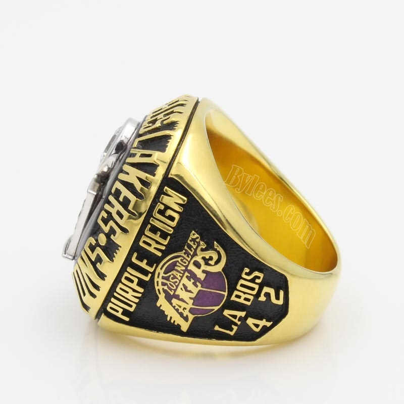 1985 Lakers championship ring