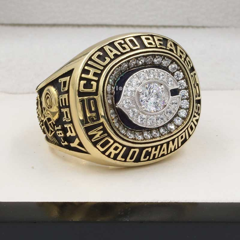 1985 bears super bowl ring