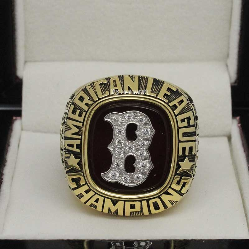 1986 red sox championship ring