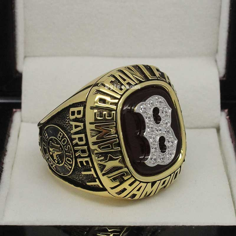 1986 Boston Red Sox American League Championship Ring (1)