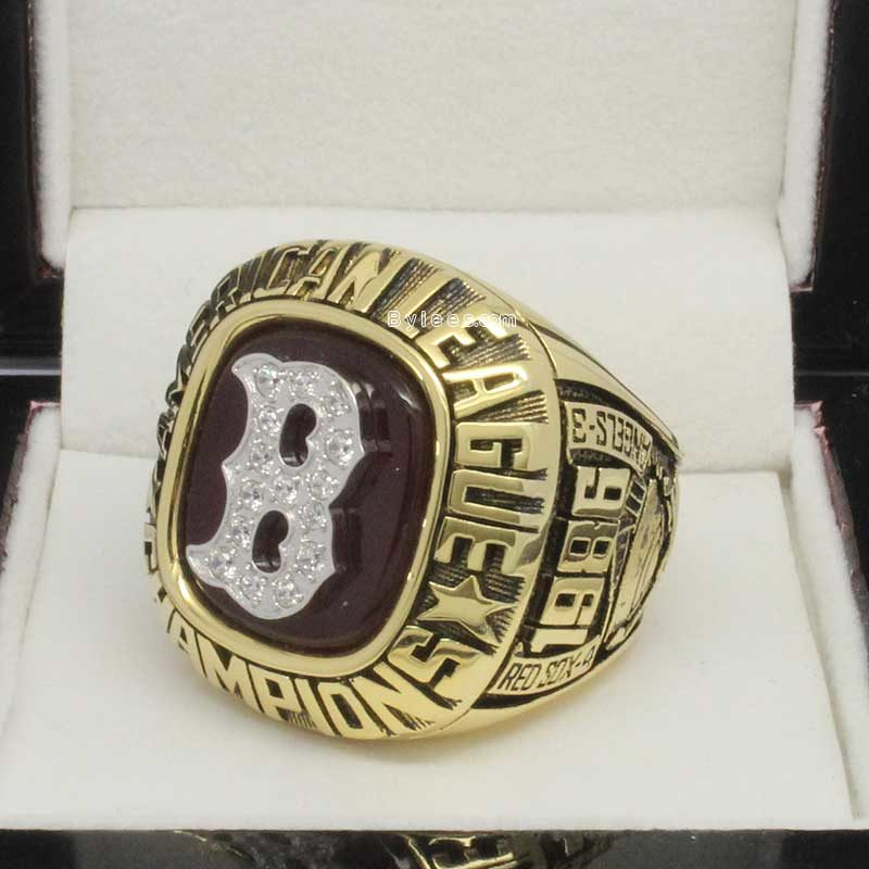1986 Boston Red Sox American League Championship Ring(3)
