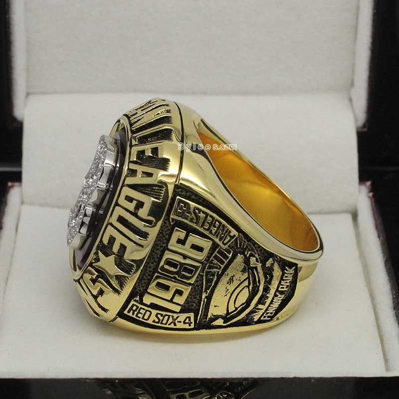 1986 Boston Red Sox American League Championship Ring(5)