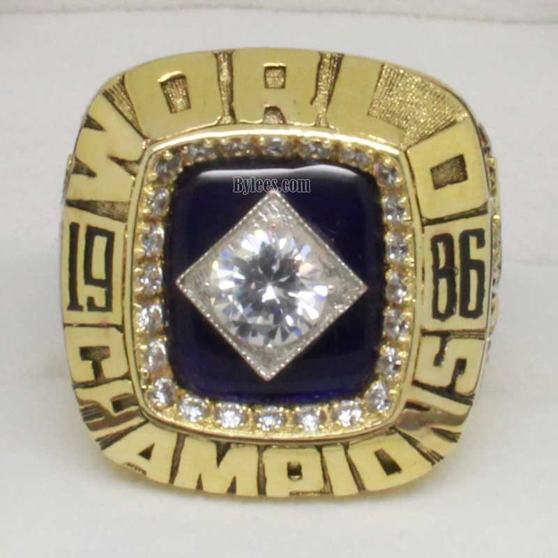 1986 world series ring