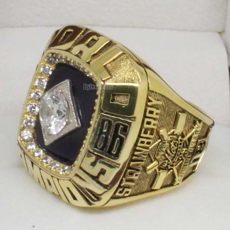 mets world series ring (1986)